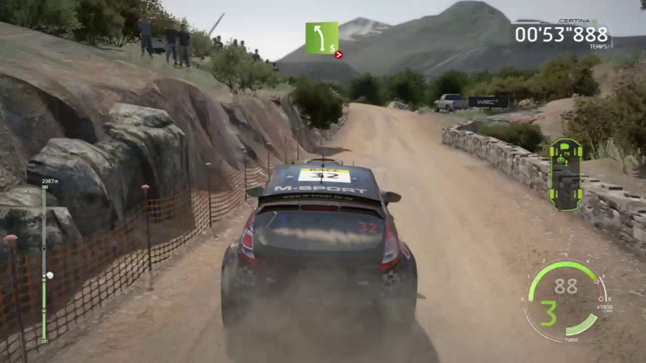 wrc 6 ford fiesta r5 en direct youtube. Black Bedroom Furniture Sets. Home Design Ideas