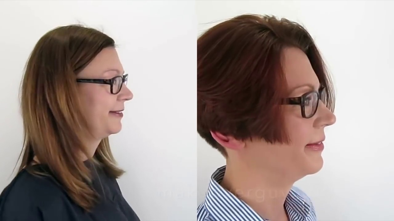 Dramatic Long To Short Hair Makeover Youtube