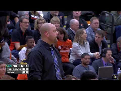 Maple Grove vs. Osseo Boys High School Basketball