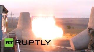 Ополченцы ДНР вступили в бой с украинскими военными возле КПП «Мариновка»