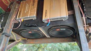 JBL 1200 Watt Subwoofer with panasound amp !! Beegroo !! Rohit sisodia !!+918053480908