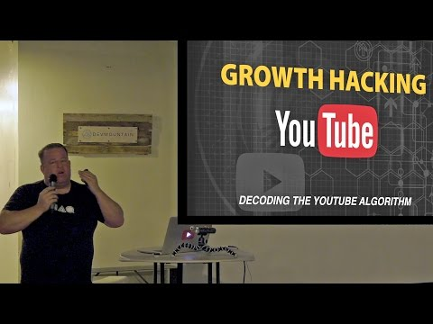 How To Grow on Youtube Fast - Decoding The New YouTube Algorithm 2017