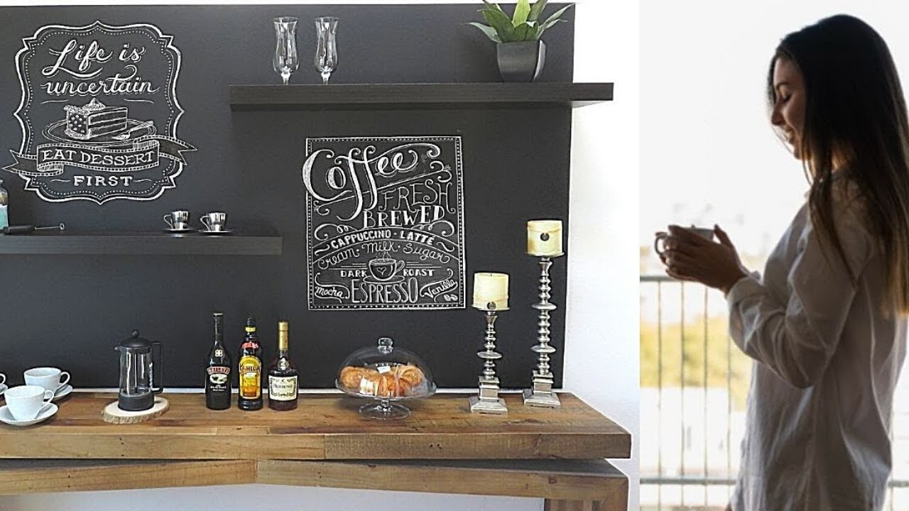 Diy Home Coffee Bar Station