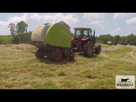 Baling With The CLAAS