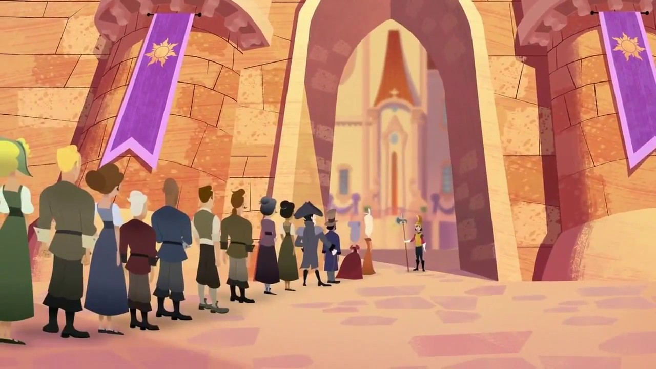 Cassandra On Guard Not In The Mood Tangled The Series Youtube