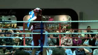 White Collar Boxing London - Liga Kadike Vs Elle Midwinter