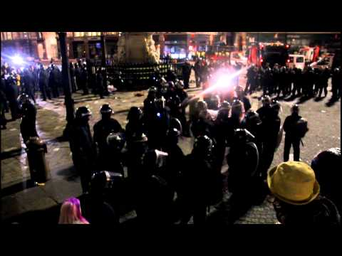 Occupy London Eviction - On The Barricade #occupylsx #olsx
