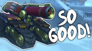 NEW BASTION IS SO GOOD! (Overwatch New Bastion Gameplay)