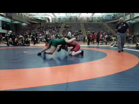 2016 Dino Invitational: 63 kg Megan Fendelet vs. Sena Debia