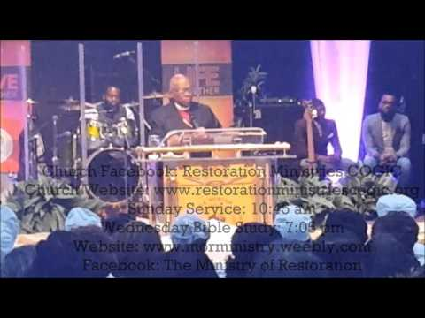 Bishop Ted Thomas ~ The God that I Serve is the God of the Hills and God of the Valley