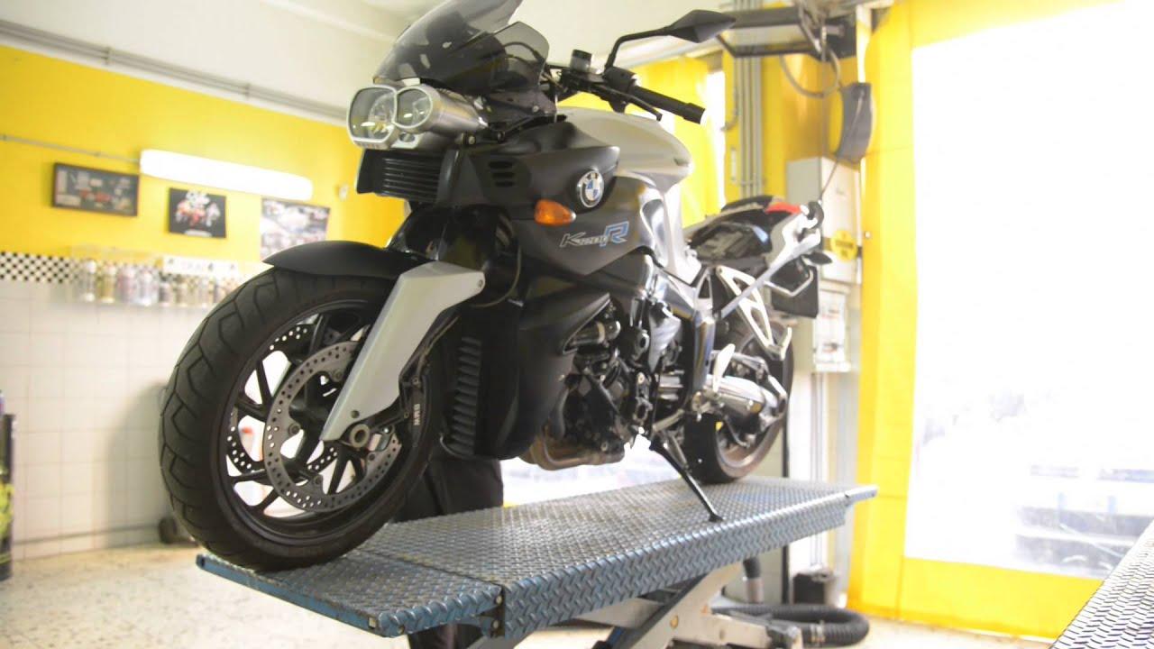 Bmw K1200 R Manutenzione Moto E Miglioramento Motore Youtube