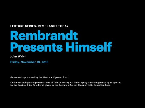 Rembrandt Presents Himself