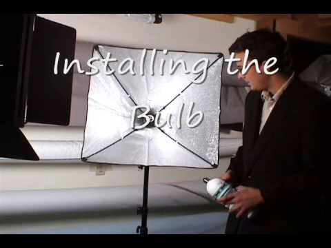 neewer softbox assembly instructions
