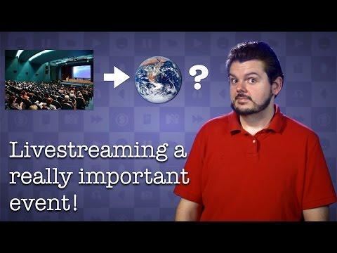 How To Livestream An Event!