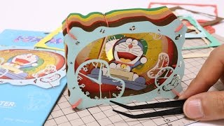 Doraemon Time Machine DIY Paper Craft  Paper Theater