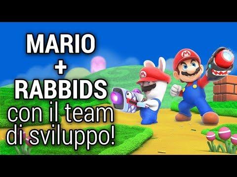 Mario + Rabbids Giocato Con Il Team Di Design