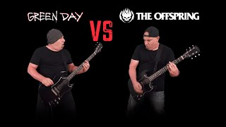 Green Day VS The Offspring (Guitar Riffs Battle)