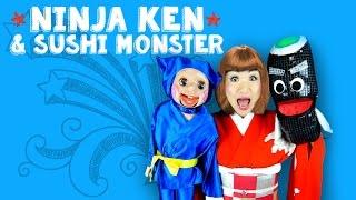 "Showko's Kids and Family show! ""Ninja Ken & Sushi Monster."" www.sho..."