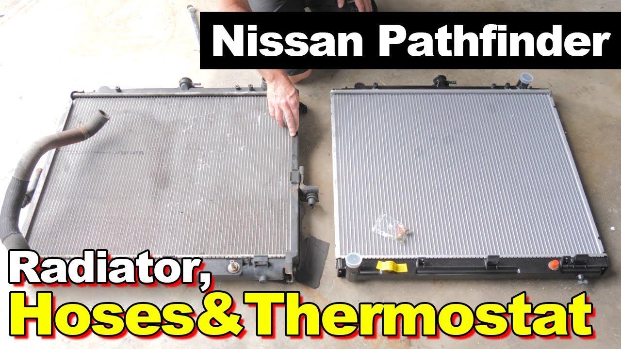 2006 Nissan Pathfinder Radiator Hoses Thermostat Youtube Fuse Box
