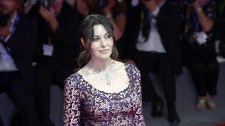 Monica Bellucci on the red carpet of the Venice Film Festival
