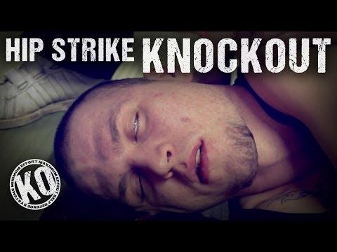 Self Defence Hip Strike Knockout