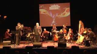 Thierry CAENS trompette et Michel BECQUET Trombone jouent Meditango de Astor Piazzolla