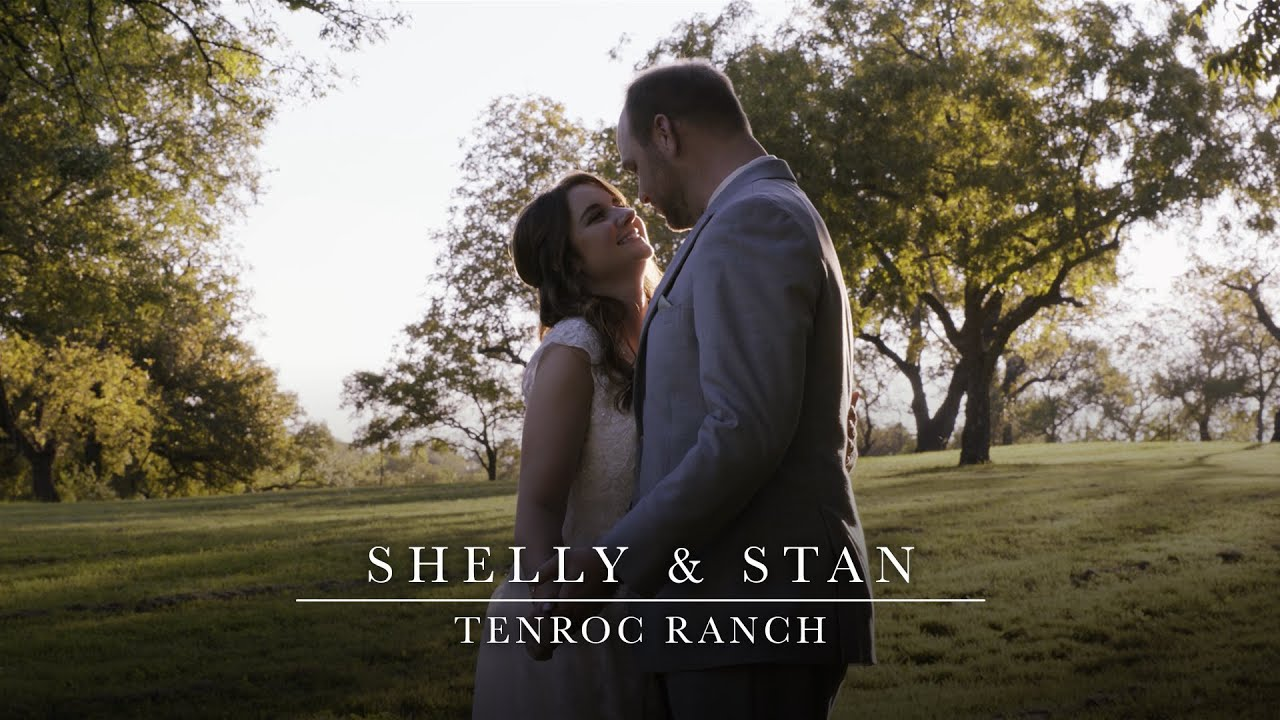 Shelly & Stan - Beautiful Wedding Filmed at Tenroc Ranch in Salado, Texas