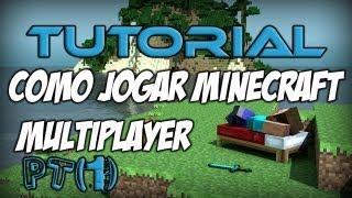 [Tutorial] Como jogar Minecraft Multiplayer e como se Registrar e Logar [Parte 1]