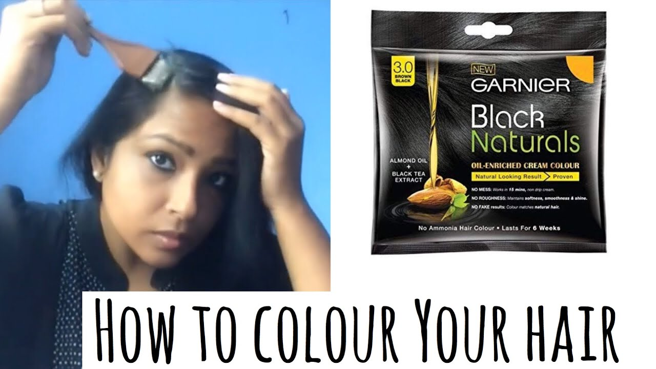 Affordable Hair Color Garnier Black Naturals Hair Colour Reivew