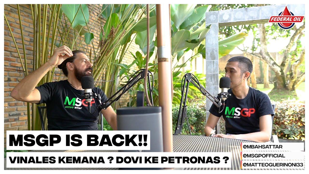 MSGP - MSGP is Back!! Vinales Kemana ? Dovi Ke Petronas SRT ?