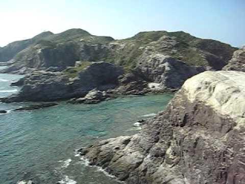 渡嘉敷島南端からの景色。