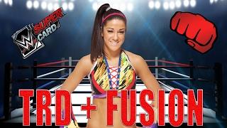 Bayley Team Ring Domination + Erste Hardened Fusion   WWE SuperCard