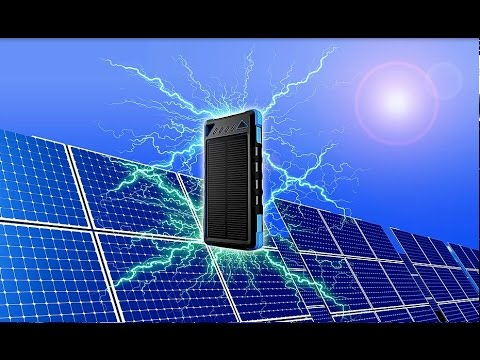Portable Endless Solar Charger 8000 mah