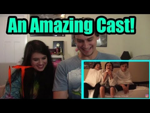IT Movie Cast Best Funny Moments | COUPLES REACTION!!!