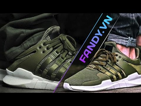 save off e7aff 7e305 Adidas EQT Support ADV Olive