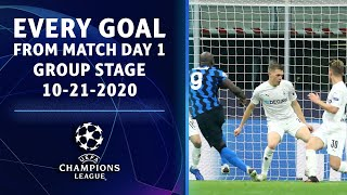 Every Goal from Match Day 2 of the Group Stage   UCL on CBS Sports