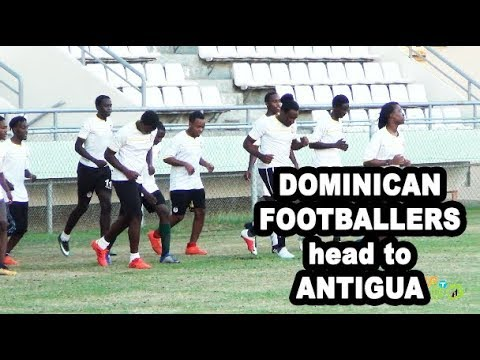DOMINICA FOOTBALLERS ON VERGE OF GETTING INTERNATIONAL SCHOLARSHIPS ON WAY TO ANTIGUA