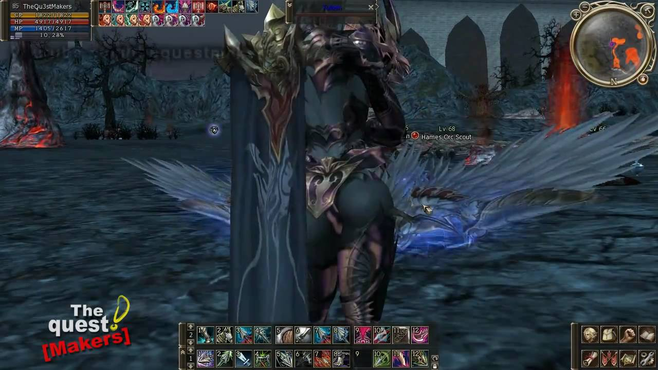 Lineage 2 gameplay - Phantom Ranger (Ghost Sentinel) [Freya]