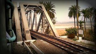 River SUTLEJ Railway Bridge near Ludhiana | Onboard Ahmedabad - Vaishno Devi Katra Sarvodaya Express