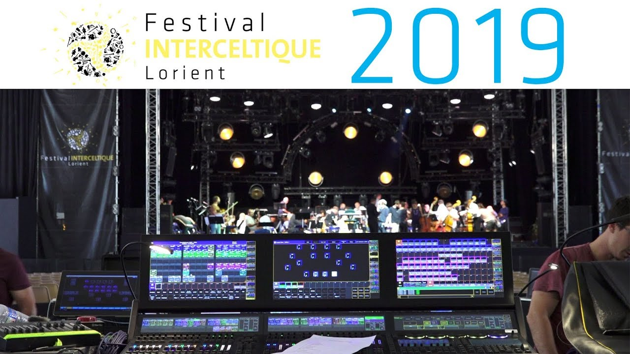 Dans les coulisses de l'Espace Marine - Festival Interceltique de Lorient 2019