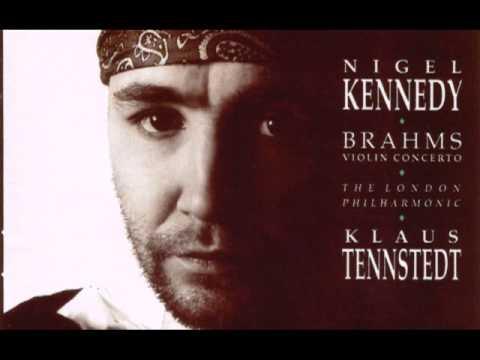 Nigel Kennedy Brahms violin concerto 1st mov