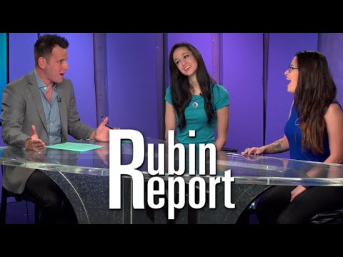 Jaclyn Glenn & Cara Santa Maria on The Rubin Report
