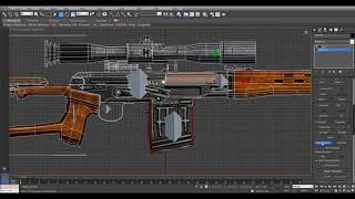 Rigging and Animating 3D Weapons (ВИДЕОУРОКИ; 3ds Max; 3D Modeling; 3D Моделирование)