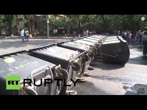 LIVE: Anti-government protests continue in Yerevan (June 25, 8:00 to 16:00 GMT)
