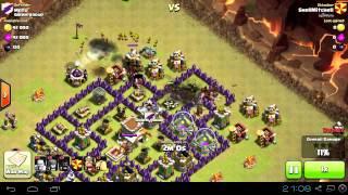 Clash of Clans - Clan Wars - Hog Rider อยู่ให้สบาย รอบที่ 1