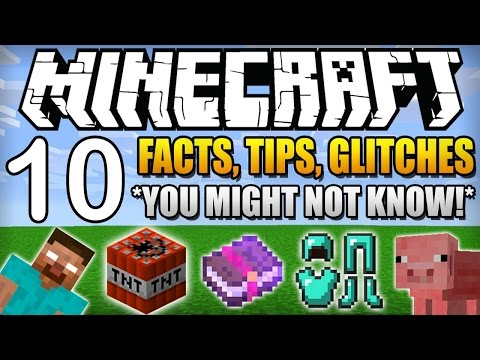 ✔ 10 Facts, Tips, Glitches, Things You Didn't Know About Minecraft