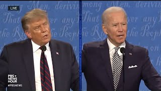 Under this president, we have become weaker, sicker, poorer, more divided, and violent. when joe biden was vice inherited a recession, he ...