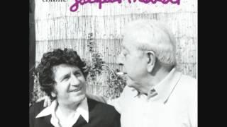 """Mouloudji chante Prévert """"Les feuilles mortes"""" version inédite 1958"""