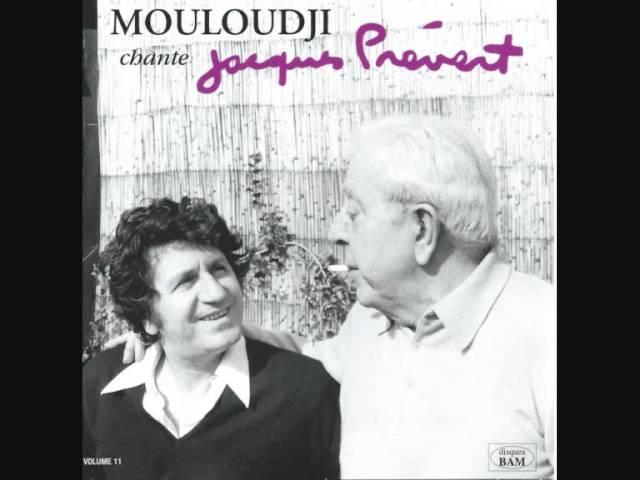 Mouloudji chante