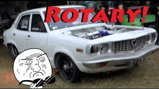 Rotary Compilation | RX3, RX7, RX8 | Engine sounds, Antilag!